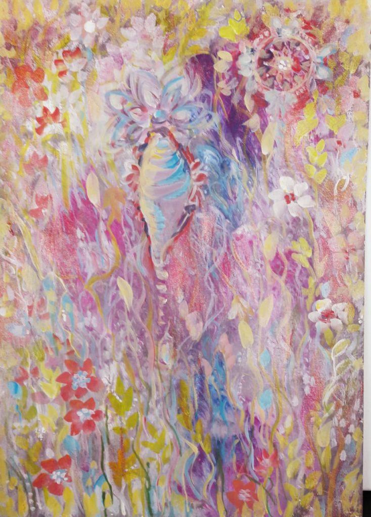Вайкунтха - нити любви плетущие солнечное полотно счастья в кристальной любви к Господу Вишну