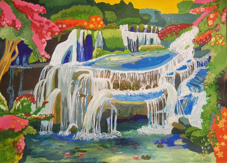 Разлив водопадов на Вайкунтхе