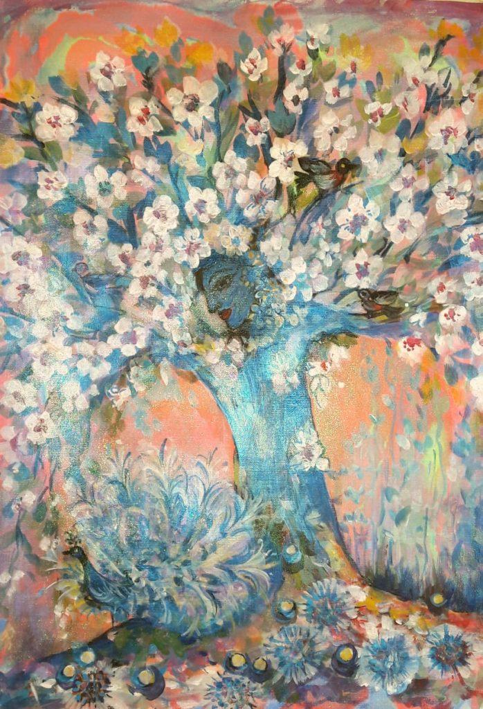 Вайкунтха. Волшебное дерево исполнения желаний, птица счастья, золотые жемчужины божественной доброты и кристаллы радости