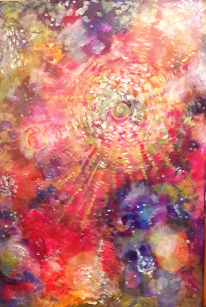 Сияние Вайкунтхи в космосе духовных миров Вселенной