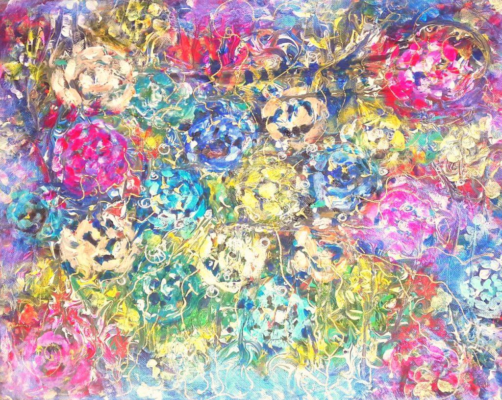 ВАЙКУНТХА. Поляна магических кристаллов поля жизни на Вайкунтхе (Gayatri)