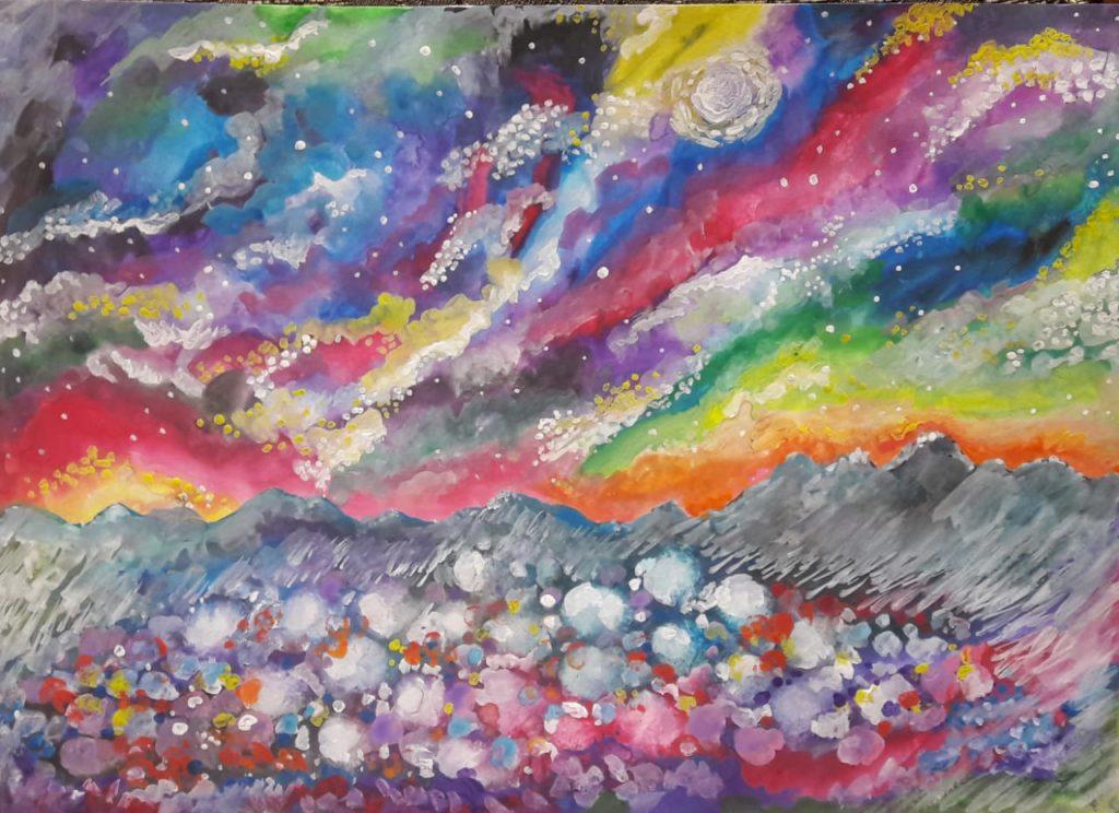 ВАЙКУНТХА.Мерцающая поляна красоты и небесные звездопады.(Gayatri)